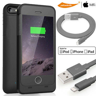 Apple Genunie Effective Battery Case Charger+Lightning Cable For iPhone 5 5S SE