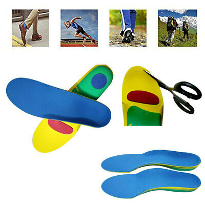 Orthotic Sports Insoles Pads For Arch Support Fallen Arches Over Pronation L