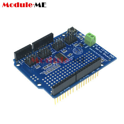 16 Channel 12-bit PWM Servo Drive shield board -I2C PCA9685 For Arduino Module M