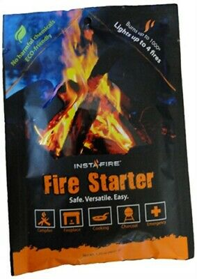 Insta-Fire Fire Starter 3 Pack INS02 All natural fire starter Works in harsh co