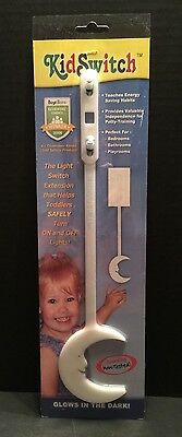 LOT OF 5! NEW! Just Kids Inc. Child KID SWITCH Light Switch Extension  NIP