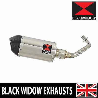 Piaggio Vespa GTS 125 4T 2007-2016 Stainless Steel Oval 200ST Silencer