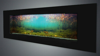 NEW! Wall mounted aquarium fish tank High Quality, Full Set  - SALE -