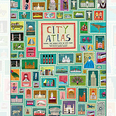 Martin Haake City Atlas Discover the personality of the worlds best-loved cities
