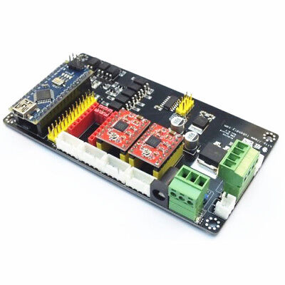 3 Axis USB CNC Controller A4988 Stepper Motor Driver Board For Engraving Machine