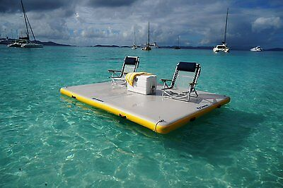 Solstice Inflatable Dock 8' Long x 5' Wide