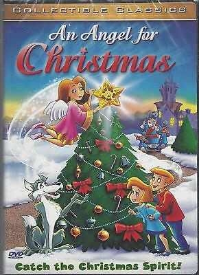 AN ANGEL FOR CHRISTMAS Animated Collectible Classics Kids Holiday NEW DVD
