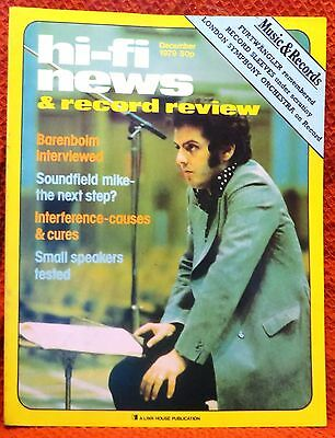 Vintage Hi-Fi News & Music Review Magazine December 1979 - Free Post Mainland