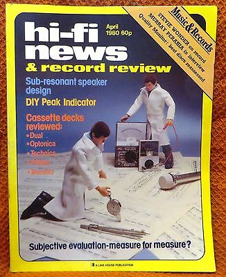 Vintage Hi-Fi News & Music Review Magazine April 1980 - Free Post Mainland