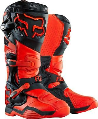 NEW Fox Comp 8 Orange Boots from Moto Heaven