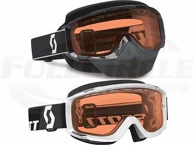Scott Split Over The Glasses Goggles Dual Pane Thermal Rose Lens Snowmobile
