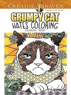Creative Haven Grumpy Cat Hates Coloring: Coloring Book by Diego Pereira (Englis