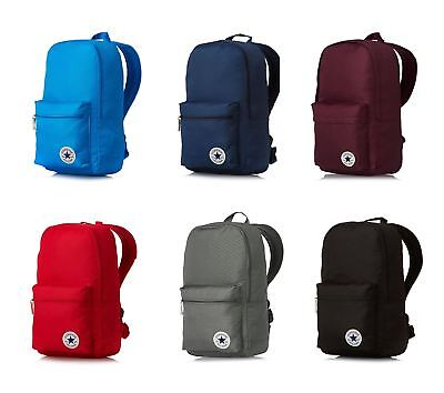 Converse Core Poly Backpack Rucksack School Bags in Blue Red Black Grey    Lilac ece2d89e87127