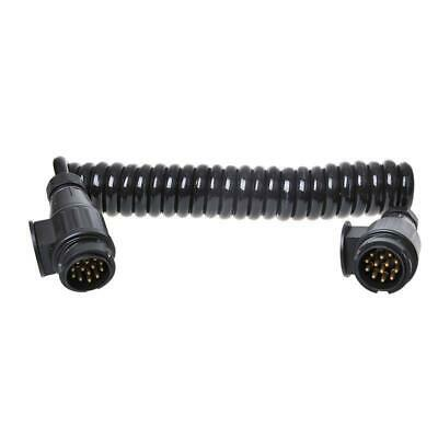 Extension Cable 3,5m Spiral Cable 13-polig Trailer Cable Truck Trailer 8 Veins