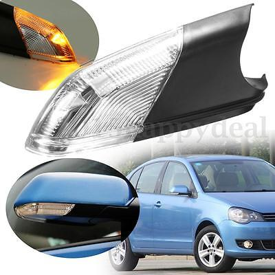 Driver Side Right Door Wing Mirror Indicator LED Lens Lamp O/S  For VW Polo MK4