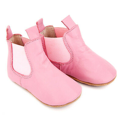 NEW Pre-walker leather riding boots in pink Girl's by SKEANIE