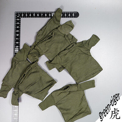 A318 1:6 Scale ace Military action figure parts - Woodland BDU w/ Chest Rig Set