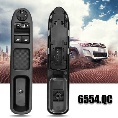 For Peugeot 207 Electric Power Window Master Control Switch 6554Qc