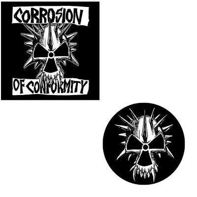 Corrosion Of Conformity 2 Button Badge Set Official Metal Badges New