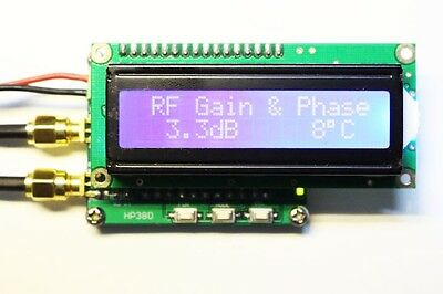 NEW 0 ~ 2700 MHz RF gain and phase detector power meter HP380