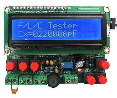 DIY LED Capacitance Frequency Inductance Tester Digital Meter/51 microcontroller