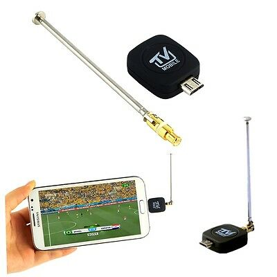 Mini Micro USB DVB-T Digital Mobile TV Tuner Receiver for Android 4.0-5.0 AO
