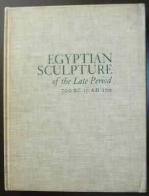 1969 Egyptian Sculpture Of The Late Period 700 B.C. To A.D. 100 Egypt Bothmer HC