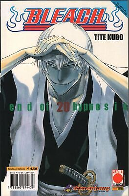 Tite Kubo BLEACH n. 20 SECONDA RISTAMPA Planet Manga Panini