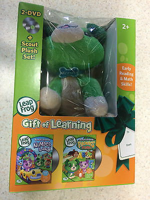 Wholesale Lot 50 Leap Frog Gift Of Learning With Scout Plush Toy Brand New