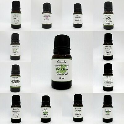 100% Pure therapeutic Essential oils 10ml-  Buy 5 get 2 Free add 7 to cart