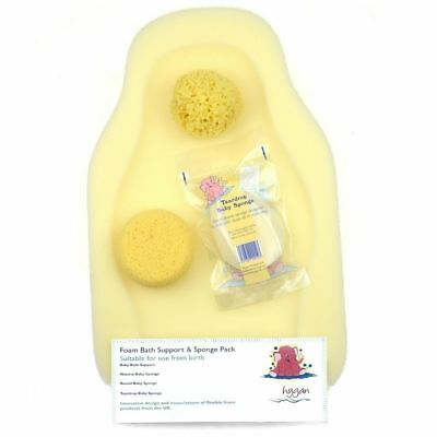 Foam Bath Support & Sponge Pack from Hygan