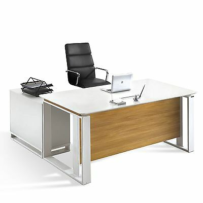 modern executive office furniture computer table desk w drawers