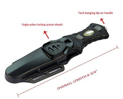 Scuba Dive and Spearfishing  Stainless Steel BCD Knife