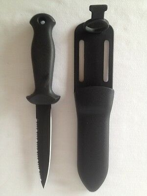 Dive and Spearfishing Stainless Steel Kill Knife with straps