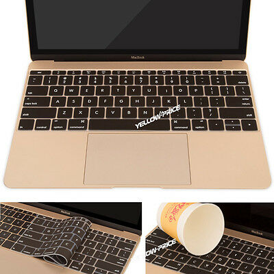 "2pcs Soft Film Washable Keyboard Cover Skin Protector For Macbook 12"" Retina"