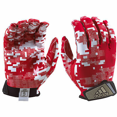 adidas FilthyQuick Digital Receiver American Football Handschuh, rot
