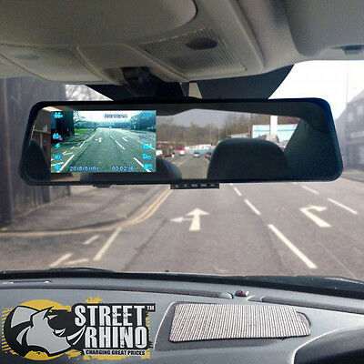 "Vauxhall Insignia Rear View Mirror G Shock HD Dash Cam 4.3"" Display"