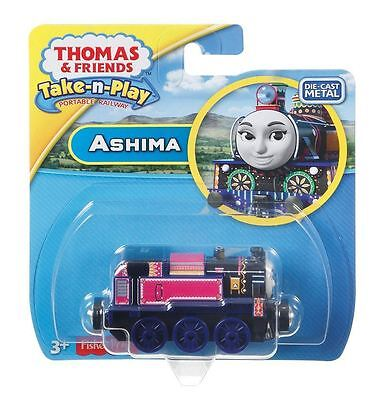 Thomas & Friends Take-n-Play Ashima Train - Die-cast & Magnetic Engine
