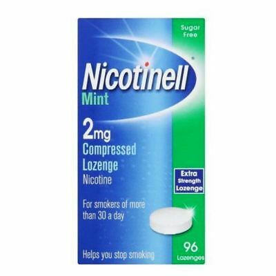 Nicotinell Mint 2mg - 96 Lozenges