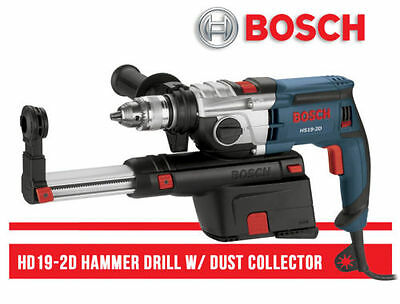 """Hammer Drill Bosch HD19-2D 1/2"""" with Dust Collection"""