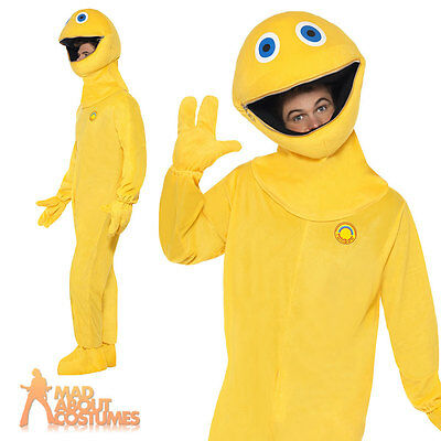 Zippy Costume Rainbow TV 70s 80s Fancy Dress Funny Stag Party Outfit New