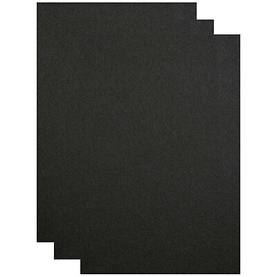 A4/A3/A2/A1 Black Card. 270gsm.  Perfect for Craft and Display Applications
