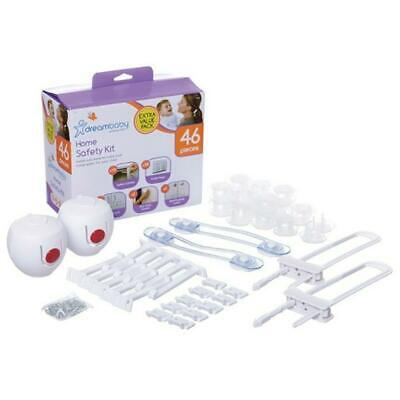Dreambaby Home Safety Essentials Value Pack, 46 Piece Dreambaby Free Shipping!