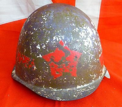 RARE Russian USSR red army military  traffic controller helmet