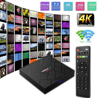 S905X TX3 Pro Smart TV Box Android WIfi Fully Loaded+Free Keyboard