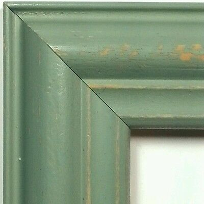 ☆TODAY☆ 40 ft - Weathered Wood Picture Frame Moulding, Mint Green, MADE USA