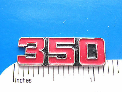 350  engine - hat pin , lapel pin , tie tac , hatpin ( red color ) GIFT BOXED
