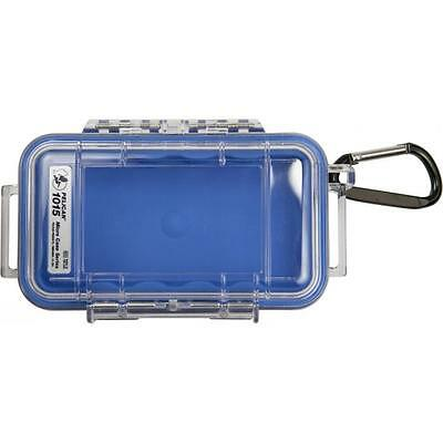 Pelican iPhone Case 1015 Dry Case /Snorkelers/Kayakers - Blue w/ clear lid