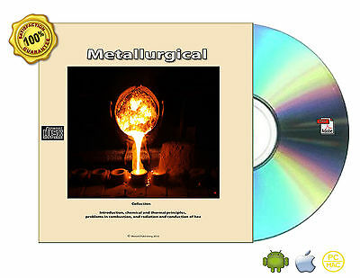Metallurgical Problem Analysis Process Calculations Engineering Books On CDROM