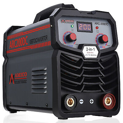ARC-165 160 Amp Stick ARC DC Welder 115/230V Dual Voltage IGBT Inverter Welding